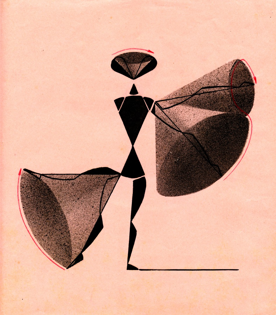 John G. Harries, Conical movement, 1950s